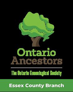 Ontario Ancestors - Essex County Branch